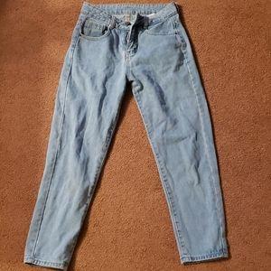Denim - Light wash mom jeans